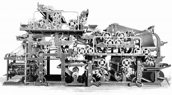 Sextuple press